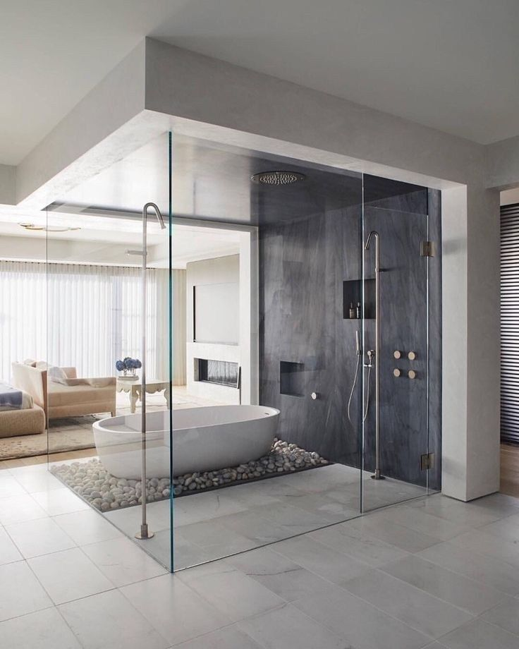 Stunning Modern Bathroom Decoration Ideas 19