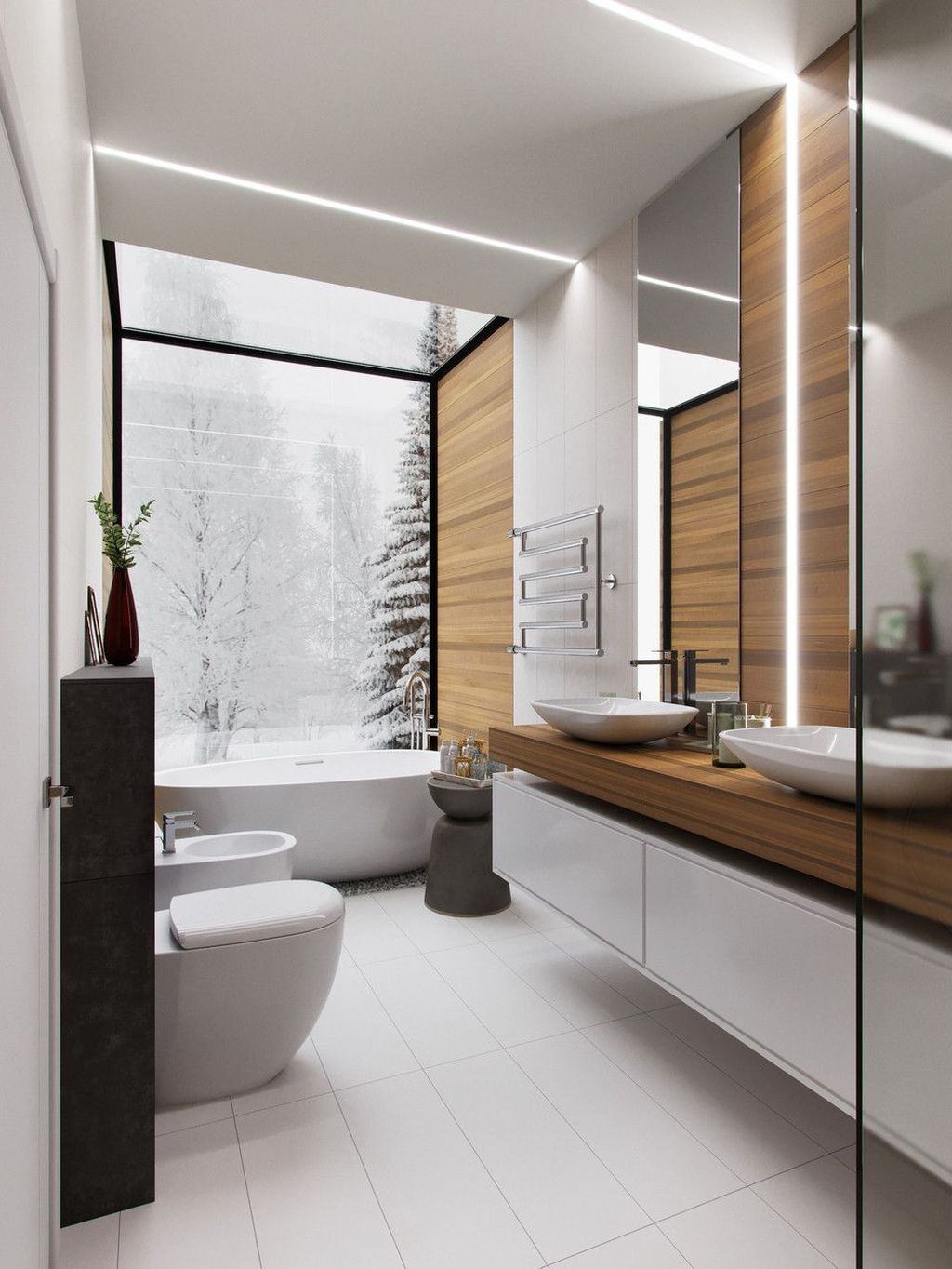 Stunning Modern Bathroom Decoration Ideas 29
