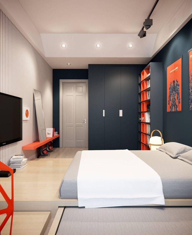 Stunning Modern Colorful Bedroom Decor Ideas 17