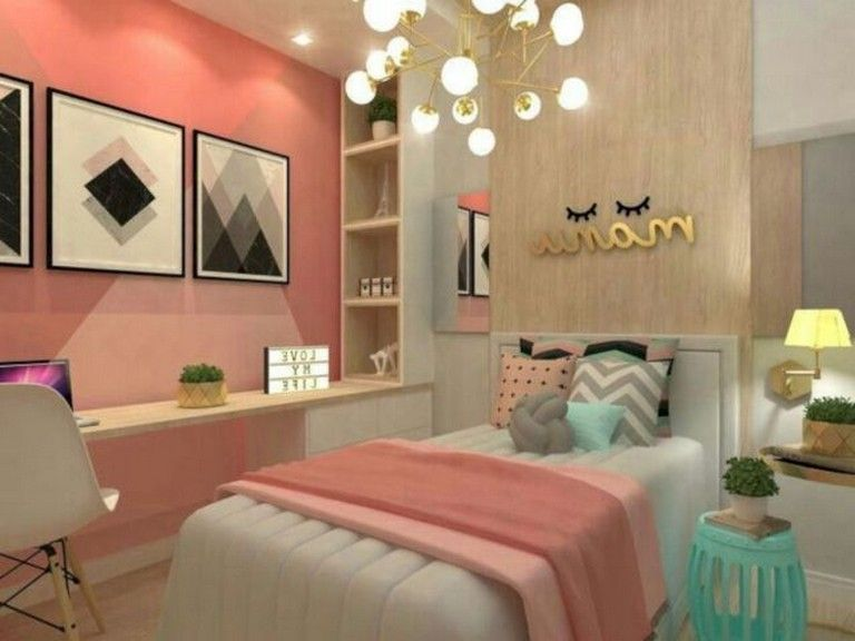 Stunning Modern Colorful Bedroom Decor Ideas 20