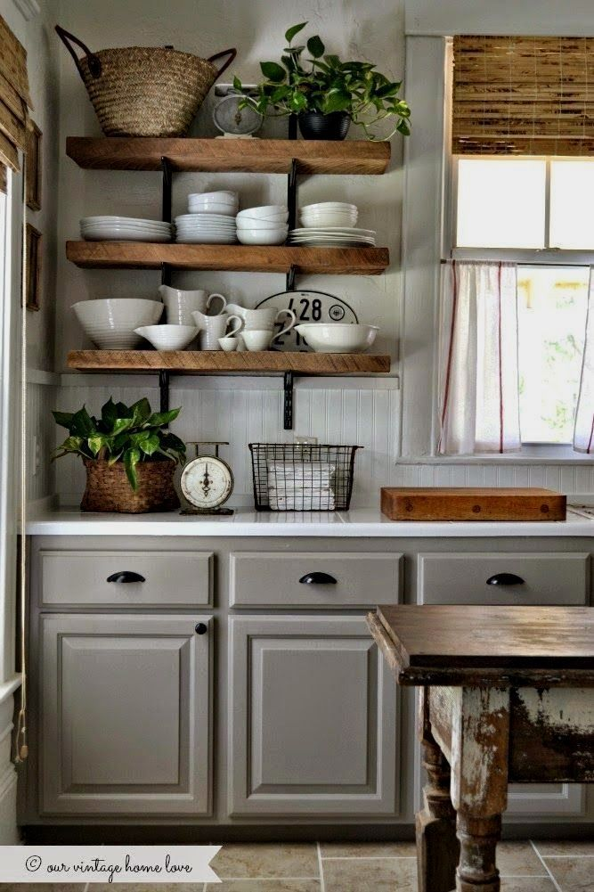 The Best Farmhouse Kitchen Cabinets Design Ideas 10