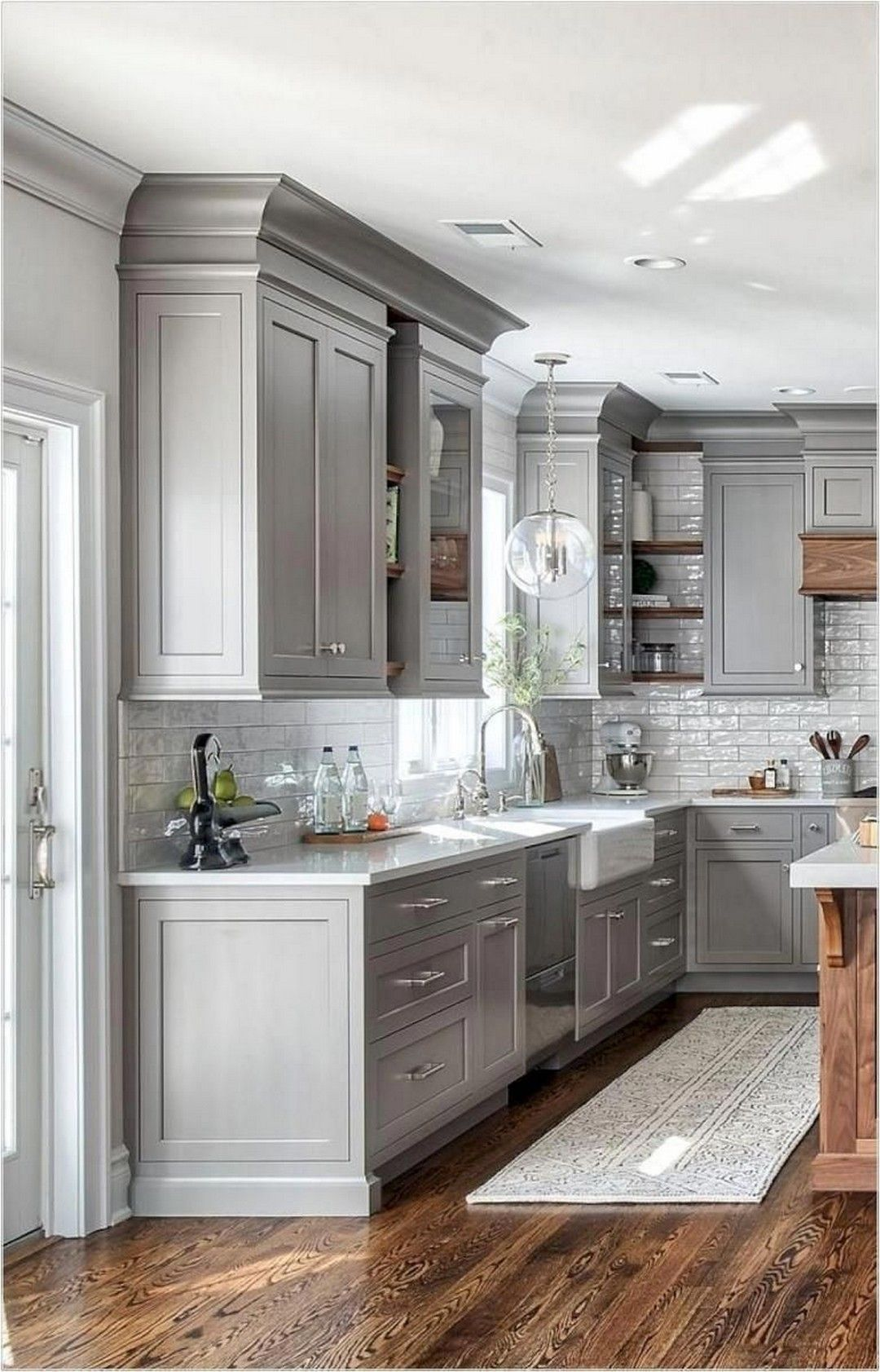 The Best Farmhouse Kitchen Cabinets Design Ideas 34