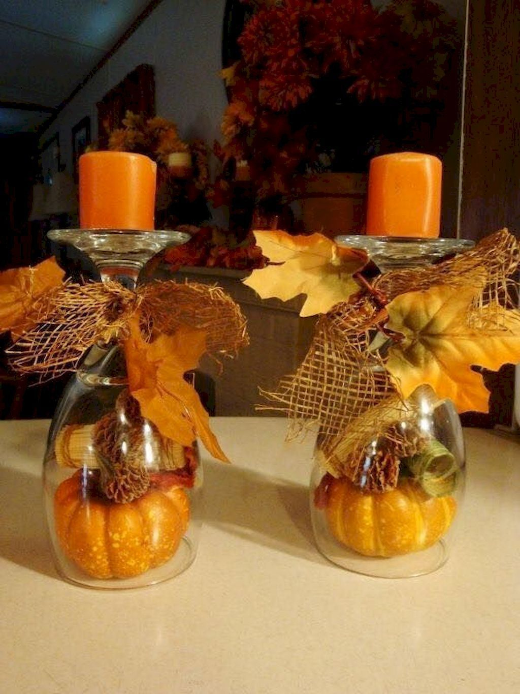 The Best Thanksgiving Living Room Decor Ideas 19