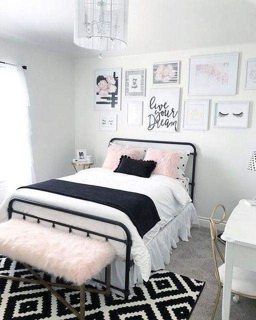 Awesome Modern Small Bedroom Design And Decor Ideas 20
