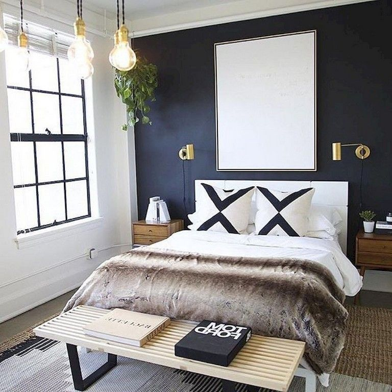 Awesome Modern Small Bedroom Design And Decor Ideas 36