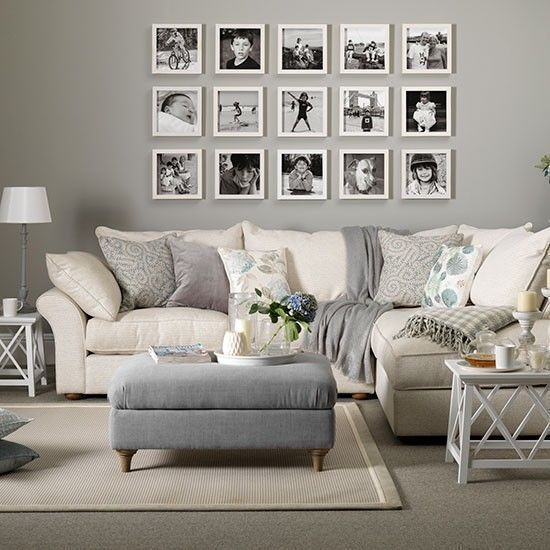 Beautiful Living Room Wall Gallery Decorating Ideas 06