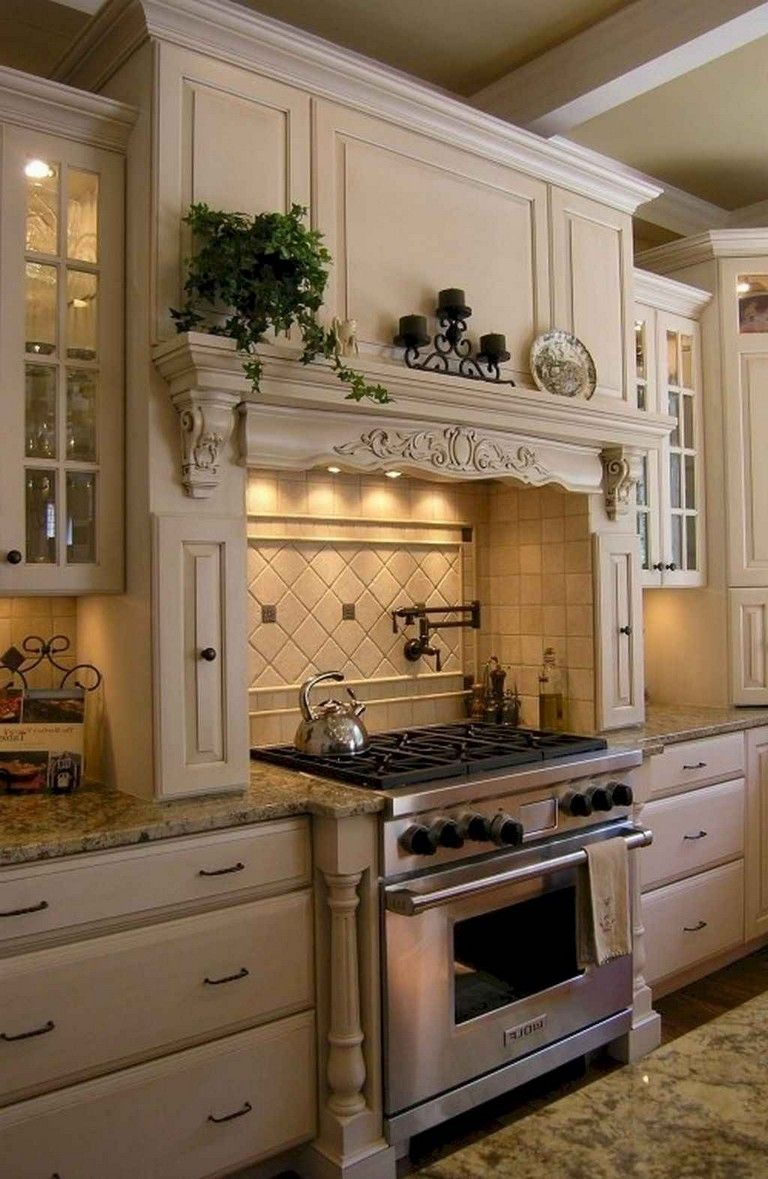 Fabulous French Country Kitchens Design Ideas 03