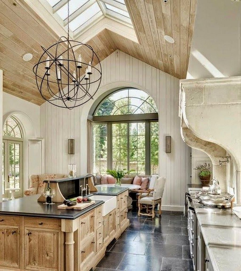 Fabulous French Country Kitchens Design Ideas 20