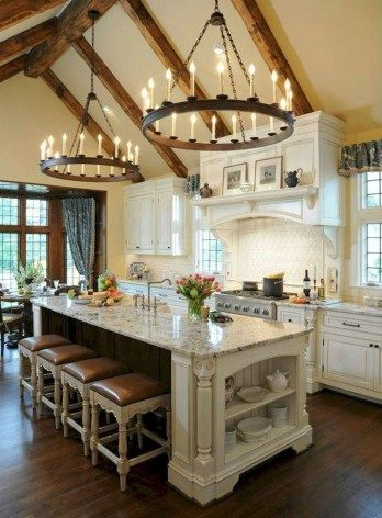 Fabulous French Country Kitchens Design Ideas 31