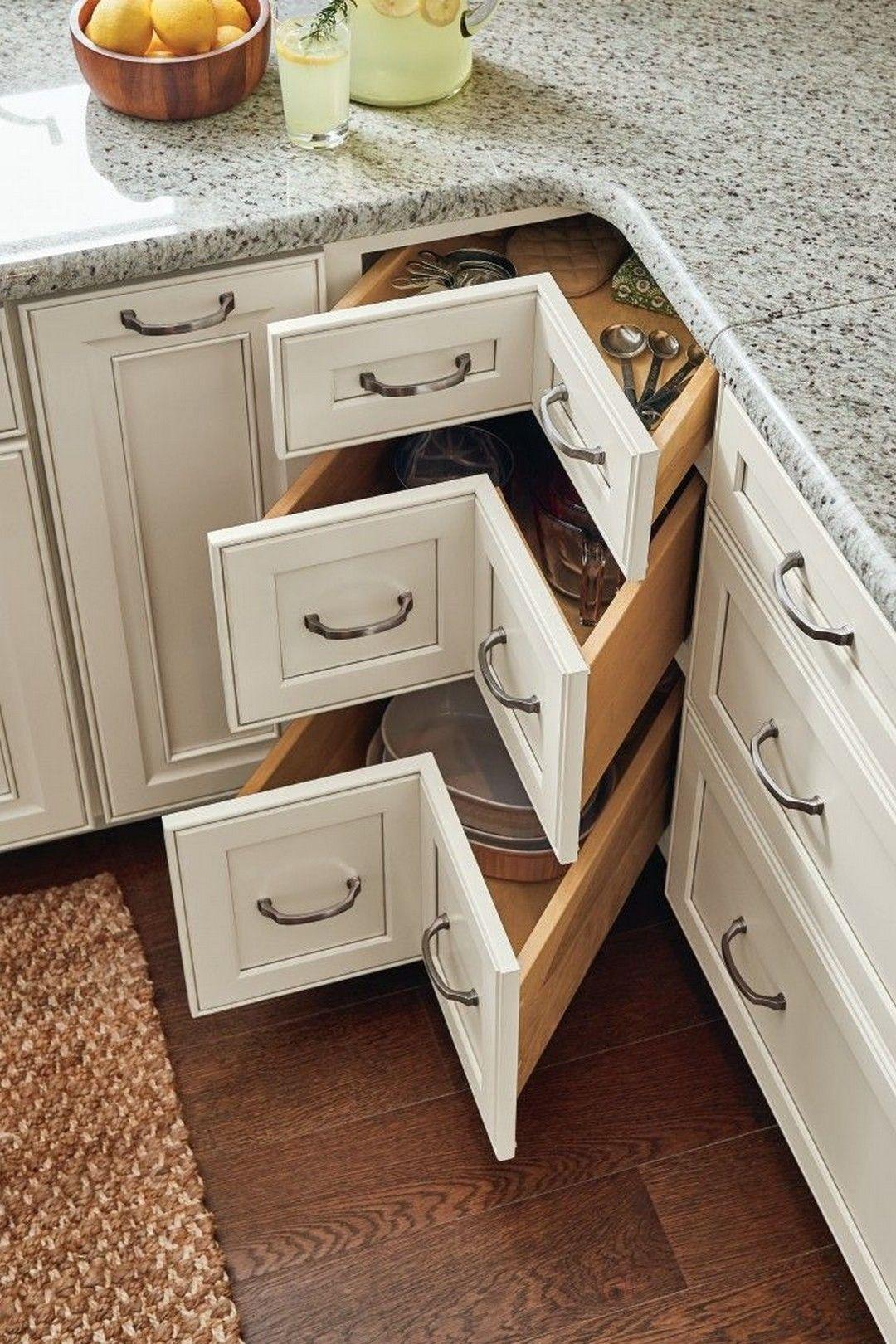 Lovely DIY Kitchen Storage Ideas To Maximize Kitchen Space 31