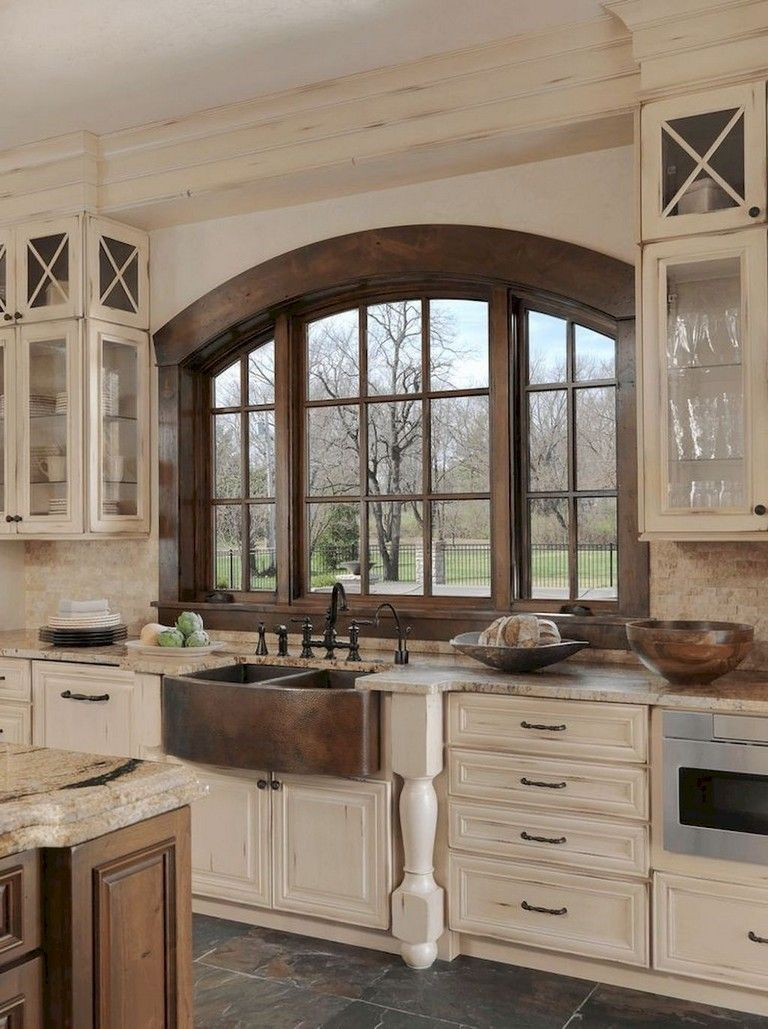 Stunning Farhouse Kitchen Design Ideas 10