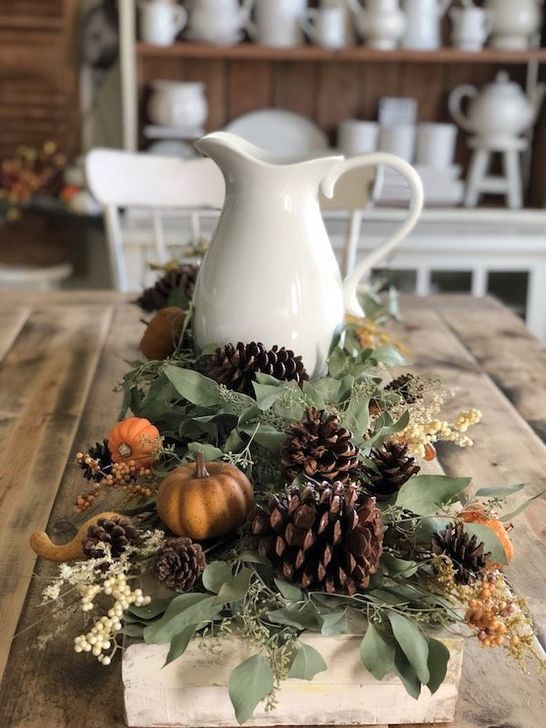Amazing Fall Dining Table Decor Ideas For Your Dining Room Decor 09