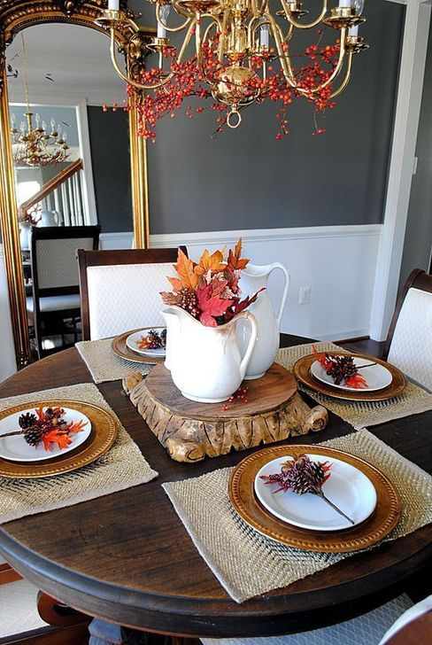 Amazing Fall Dining Table Decor Ideas For Your Dining Room Decor 18