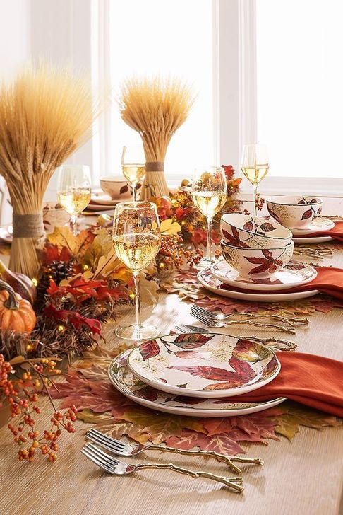 Amazing Fall Dining Table Decor Ideas For Your Dining Room Decor 20