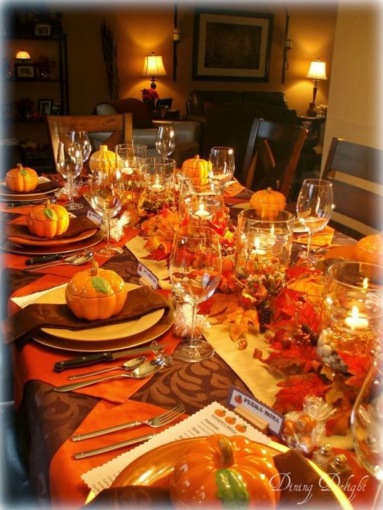 Amazing Fall Dining Table Decor Ideas For Your Dining Room Decor 22
