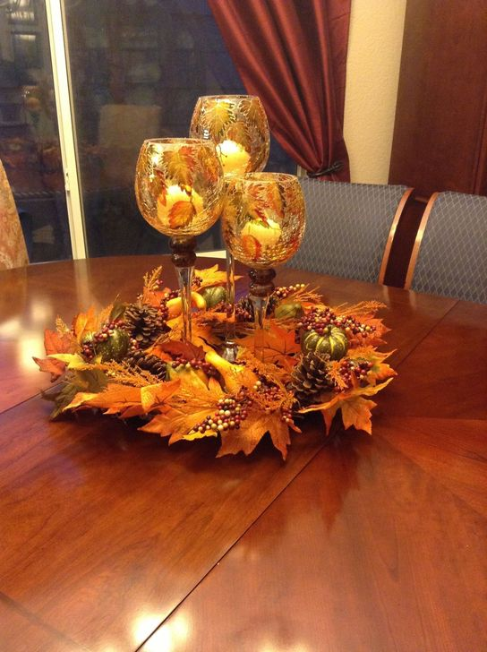 Amazing Fall Dining Table Decor Ideas For Your Dining Room Decor 25