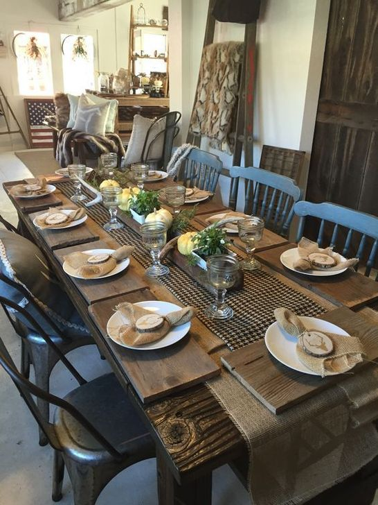 Amazing Fall Dining Table Decor Ideas For Your Dining Room Decor 27