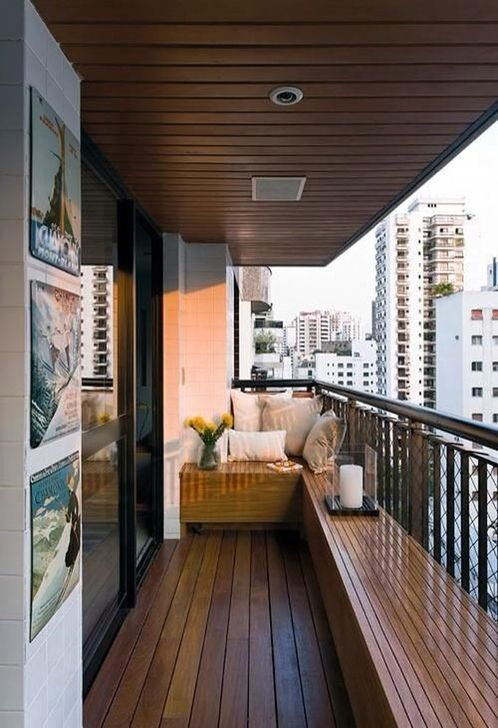 Awesome Apartment Balcony Decorating Ideas 01