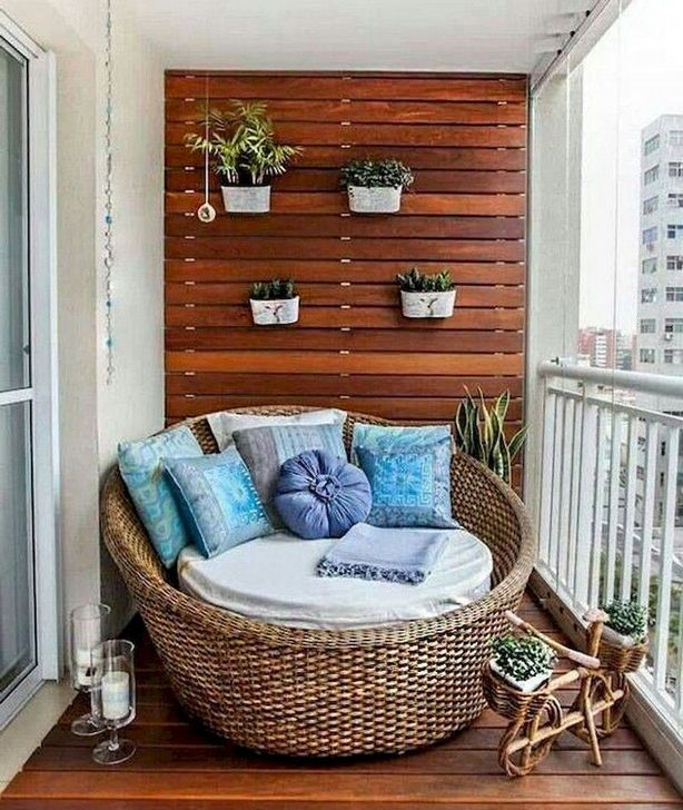 Awesome Apartment Balcony Decorating Ideas 12