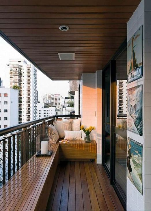 Awesome Apartment Balcony Decorating Ideas 24