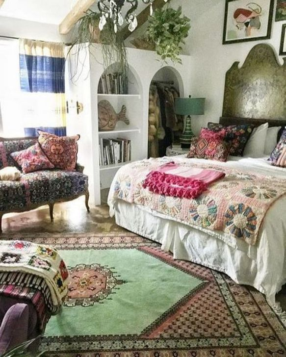 Beautiful Moroccan Bedroom Decor Ideas 08
