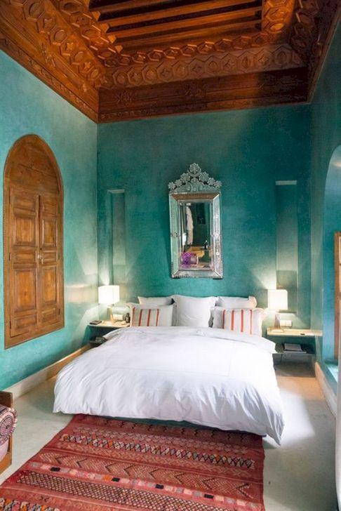 Beautiful Moroccan Bedroom Decor Ideas 33