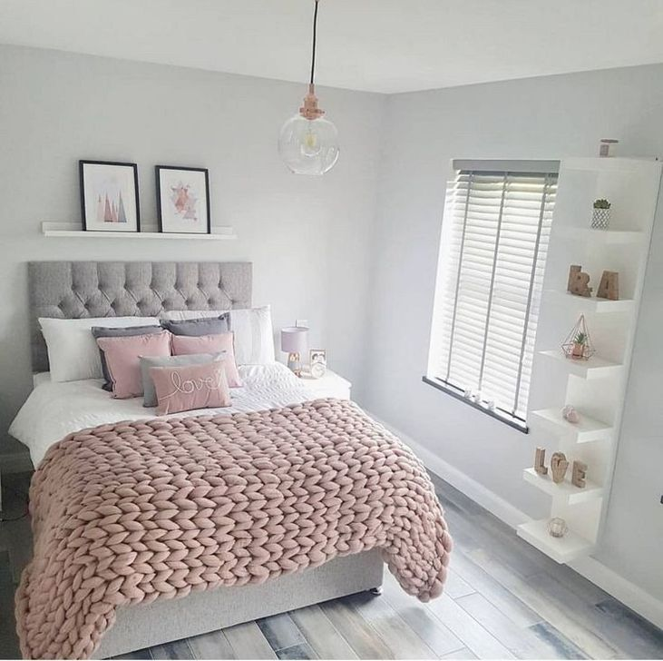 Beautiful Pink Bedroom Decor Ideas Looks Romantic 19