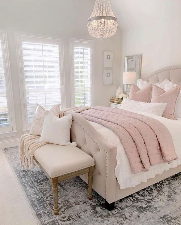 Beautiful Pink Bedroom Decor Ideas Looks Romantic 21