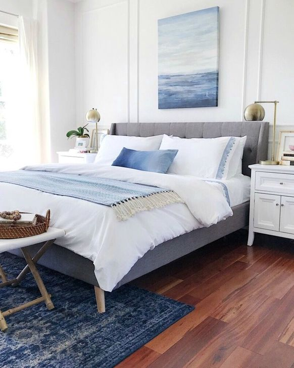 Beautiful White Bedroom Design And Decor Ideas 11