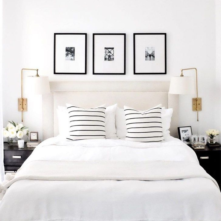 Beautiful White Bedroom Design And Decor Ideas 14