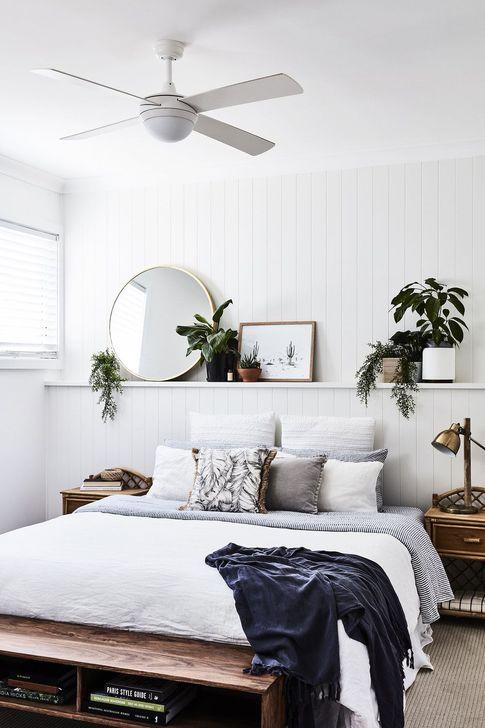 Beautiful White Bedroom Design And Decor Ideas 25