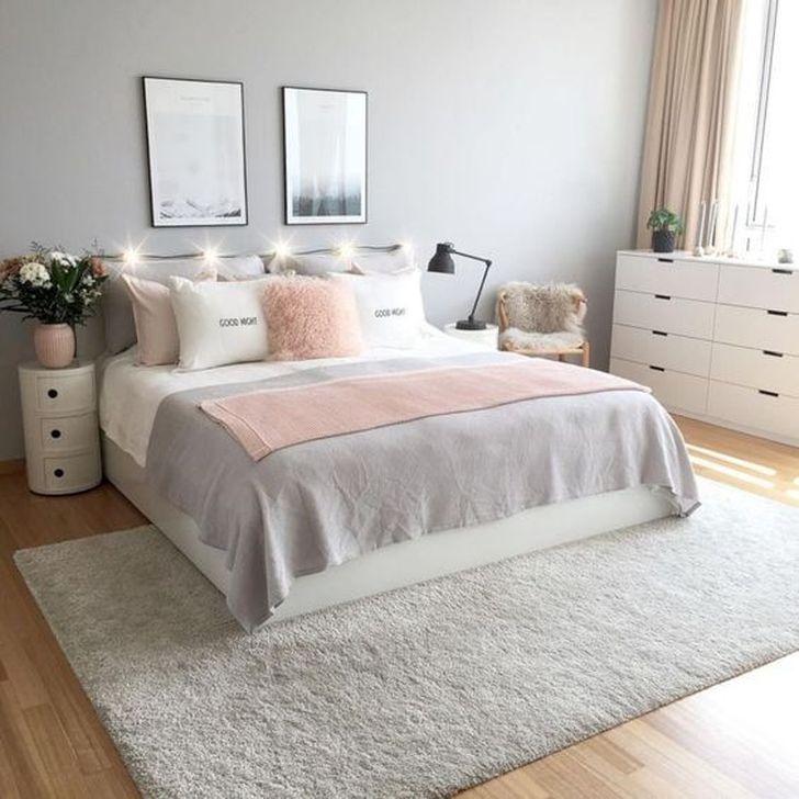 Beautiful White Bedroom Design And Decor Ideas 26