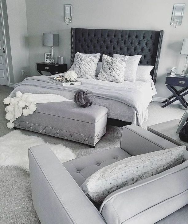 Beautiful White Bedroom Design And Decor Ideas 38