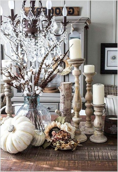 Fabulous Fall Living Room Decor Ideas To Feel Comfortable At Home 05