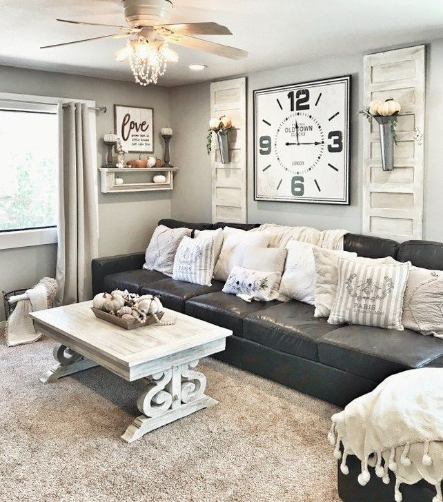 Fabulous Fall Living Room Decor Ideas To Feel Comfortable At Home 13