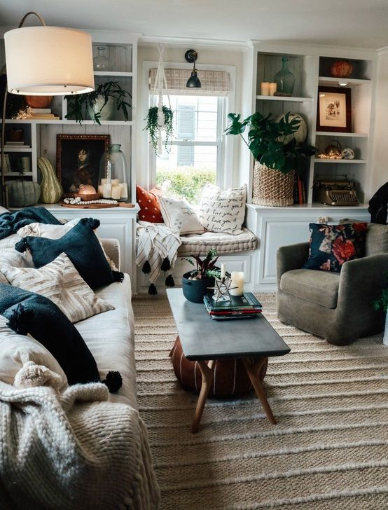 Fabulous Fall Living Room Decor Ideas To Feel Comfortable At Home 14