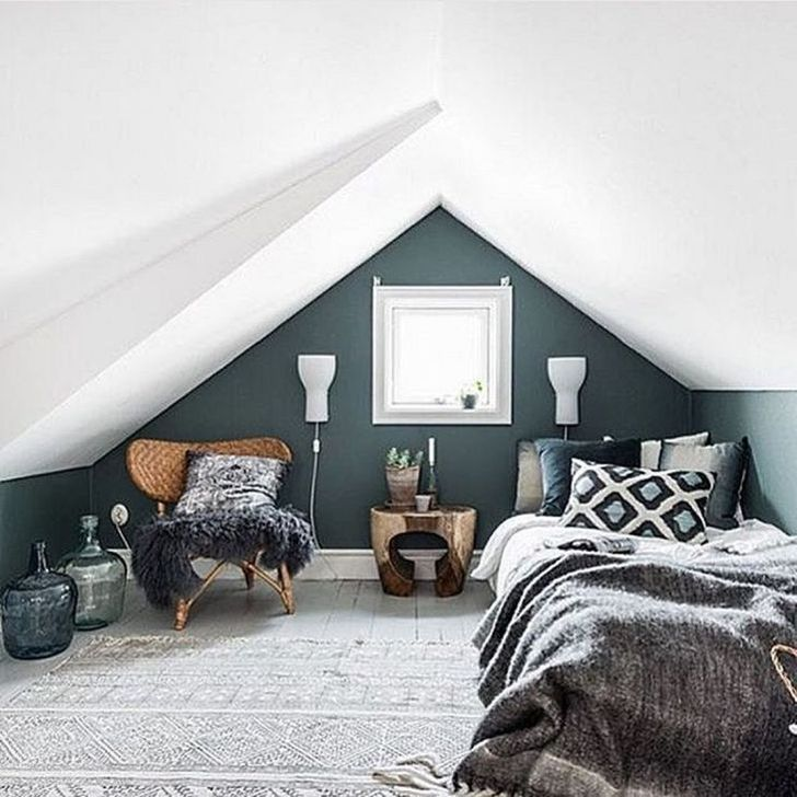 Fabulous Small Attic Bedroom Design Ideas You Will Like 25