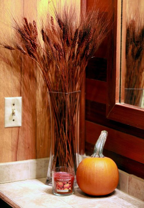 Gorgeous Fall Bathroom Decorating Ideas 09