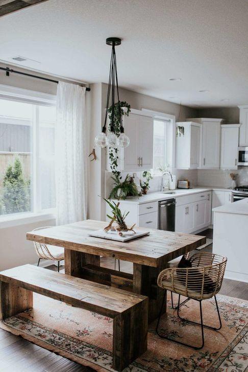 Gorgeous Rustic Dining Room Design Ideas 06