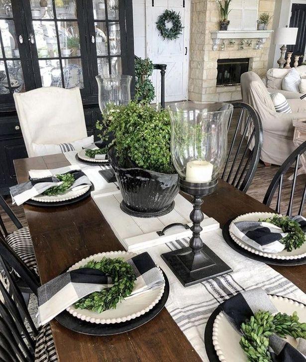 Gorgeous Rustic Dining Room Design Ideas 09