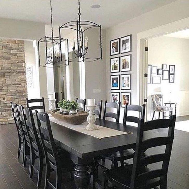 Gorgeous Rustic Dining Room Design Ideas 22