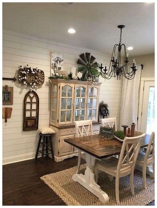 Gorgeous Rustic Dining Room Design Ideas 28