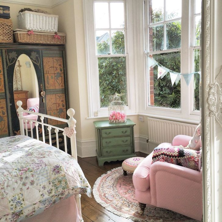 Gorgeous Shabby Chic Living Room Design And Decor Ideas 14