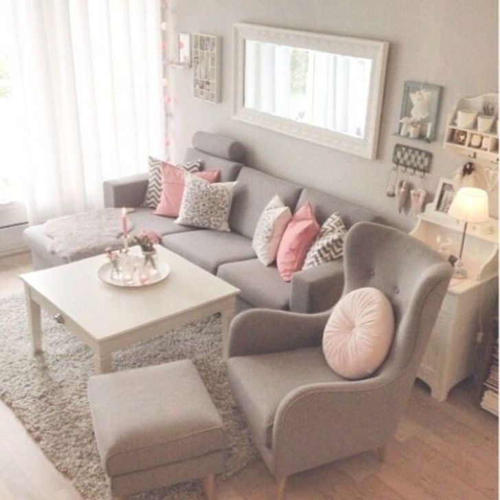 Gorgeous Shabby Chic Living Room Design And Decor Ideas 18