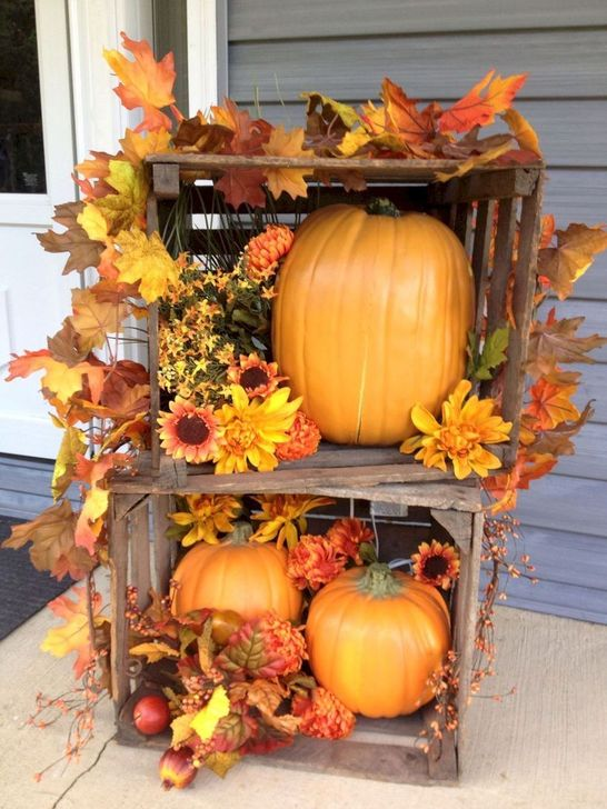 Inspiring Fall Decor Ideas For Your Home Decor 04
