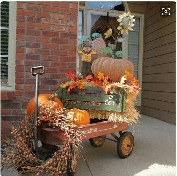 Inspiring Fall Decor Ideas For Your Home Decor 11