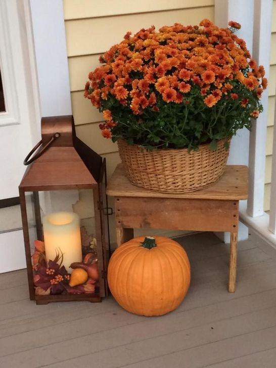 Inspiring Fall Decor Ideas For Your Home Decor 12