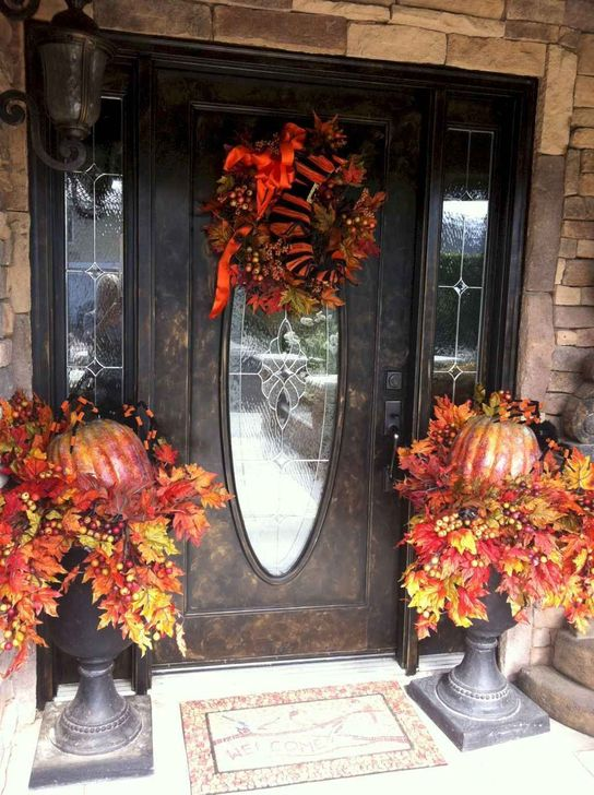Inspiring Fall Decor Ideas For Your Home Decor 16