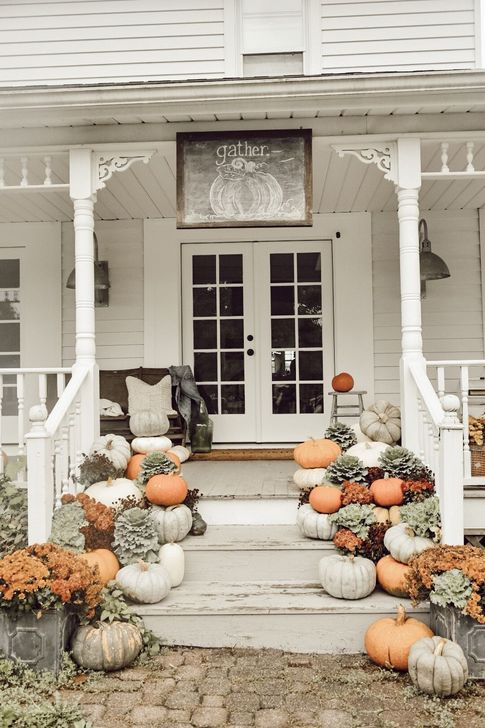 Inspiring Fall Decor Ideas For Your Home Decor 21