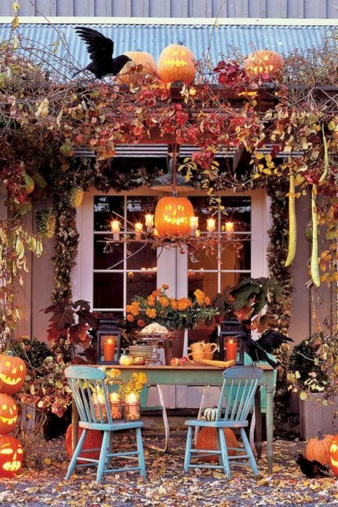 Inspiring Fall Decor Ideas For Your Home Decor 32